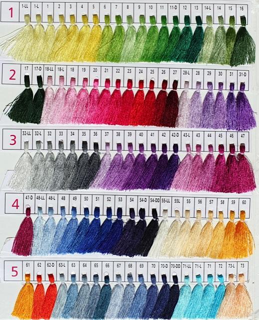палантин из пашмины: купите любимый цвет - палетка 1