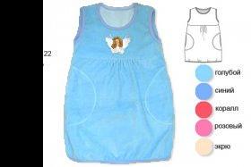 платье для девочки без рукавов