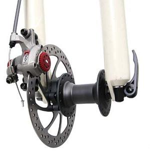 передний дисковый тормоз велосипеда (механический)