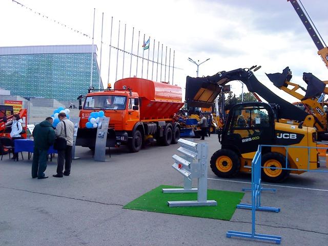 Выставка Спецтехника и Дорожное строительство, Уфа, 2012