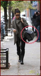 Сандра Баллок и ее Petunia Boxy Backpack