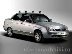Багажник на крышу Лада Приора - Уфа-багажники.ру