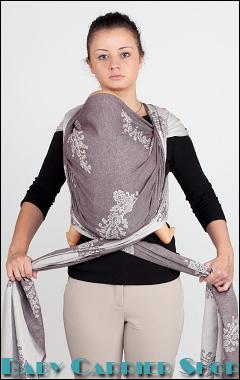 Слинг-шарф намотка КЕНГУРУ