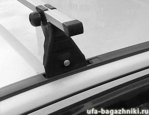 Крепление багажника в штатные места
