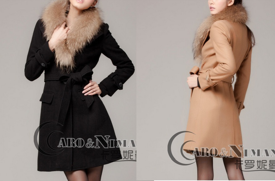 Драповое пальто женское с мехом цены