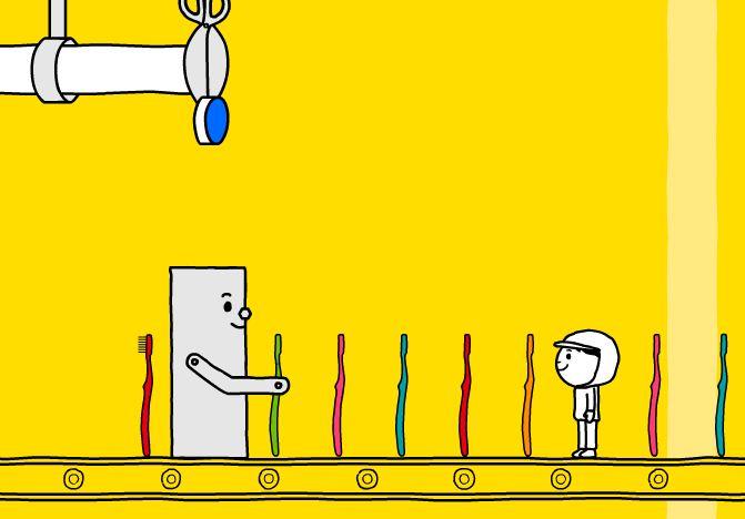 Как изготавливаются зубные щетки