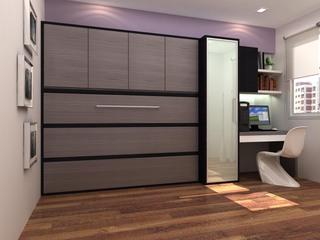 Шкаф-кровать с горизонтальным откидным механизмом | СМАРТМЕБЕЛЬ.РФ