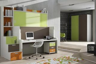 Двухъярусная стол-кровать для студентов | СМАРТМЕБЕЛЬ.РФ