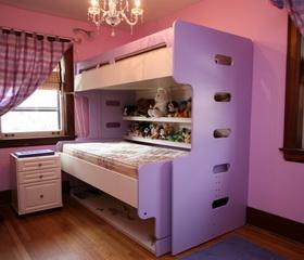 Двухъярусная кровать для детей | СМАРТМЕБЕЛЬ.РФ