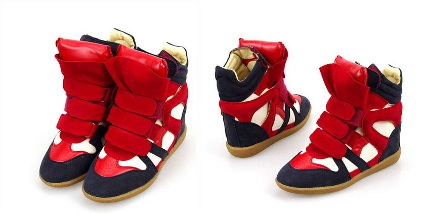 Купить Ботинки На Танкетке