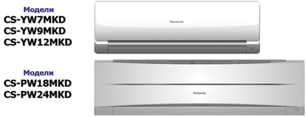 Кондиционеры Panasonic Эконом (2011)
