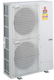 Наружные блоки MITSUBISHI Electric ZUBADAN Inverter