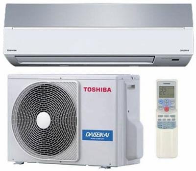 Кондиционеры Toshiba - нстенные иверторные сплит-системы серии SKVR-E Daiseikai