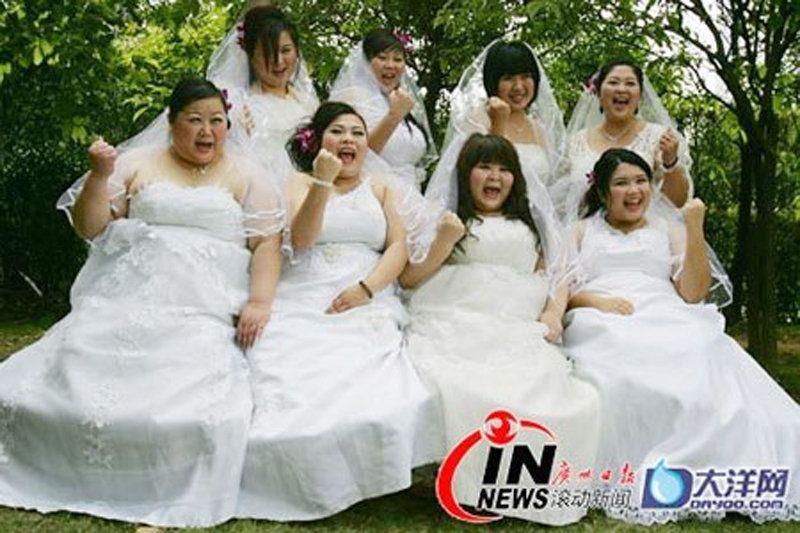 Свадебные платья для полных дам 7