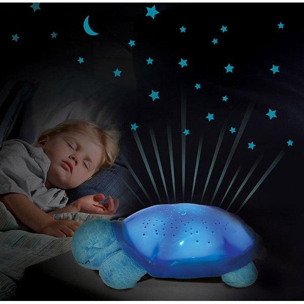 Ночник проектор звездного неба Черепаха музыкальный