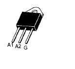 Тиристор дискретный BTA26-600BWRG