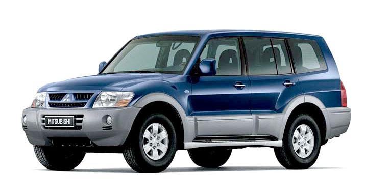 Mitsubishi Pajero III (2000-2007 г.в.)
