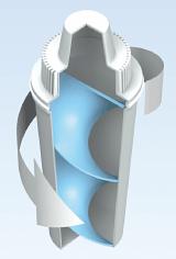 Модель вставки InVorTex®