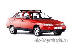 Багажник на крышу на ВАЗ-2110 в Уфе - Уфа-багажники.ру