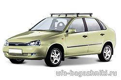 Багажник на крышу на ВАЗ 1118 Лада Калина в Уфе - Уфа-багажники.ру