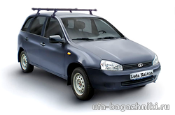 Багажник на крышу на ВАЗ 1119 Лада Калина в Уфе - Уфа-багажники.ру