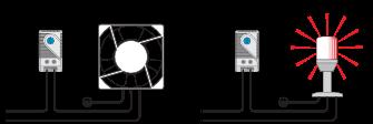 Пример использования термостата DMS1141