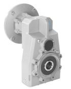 Насадной цилиндрический мотор-редуктор