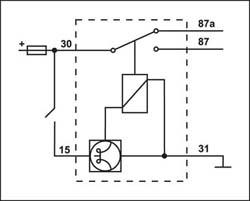 Схема подключения реле времени РЕГТАЙМ