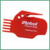 Плоский пластиковый нож-гребенка для робота пылесоса iRobot Roomba 650