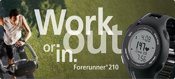 Посмотреть характеристики навигатора-часов Garmin Forerunner 210