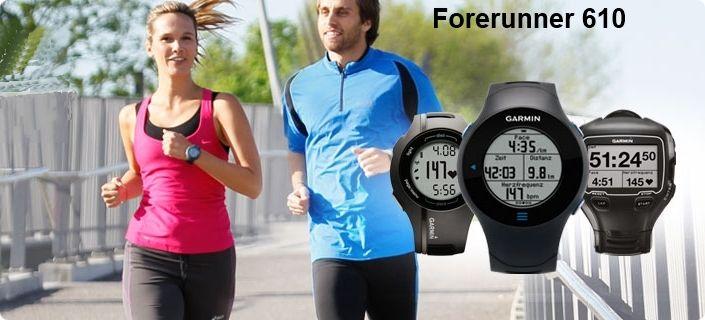 Посмотреть характеристики навигатора-часов Garmin Forerunner 610