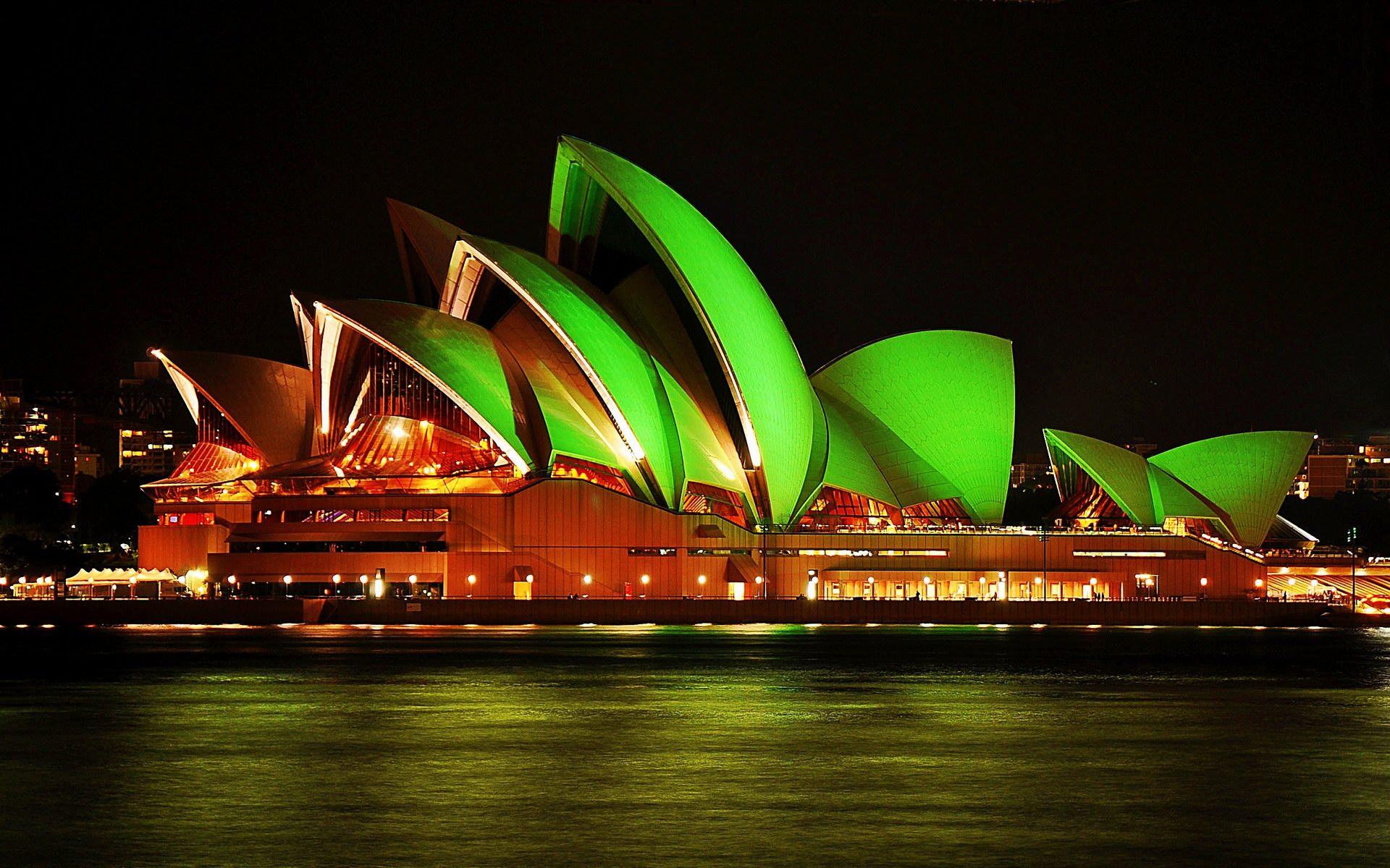 sydney opera house st patricks
