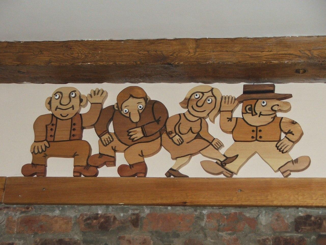инсталляция в кафе