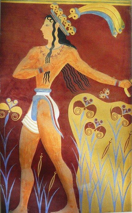 Корсет у древних