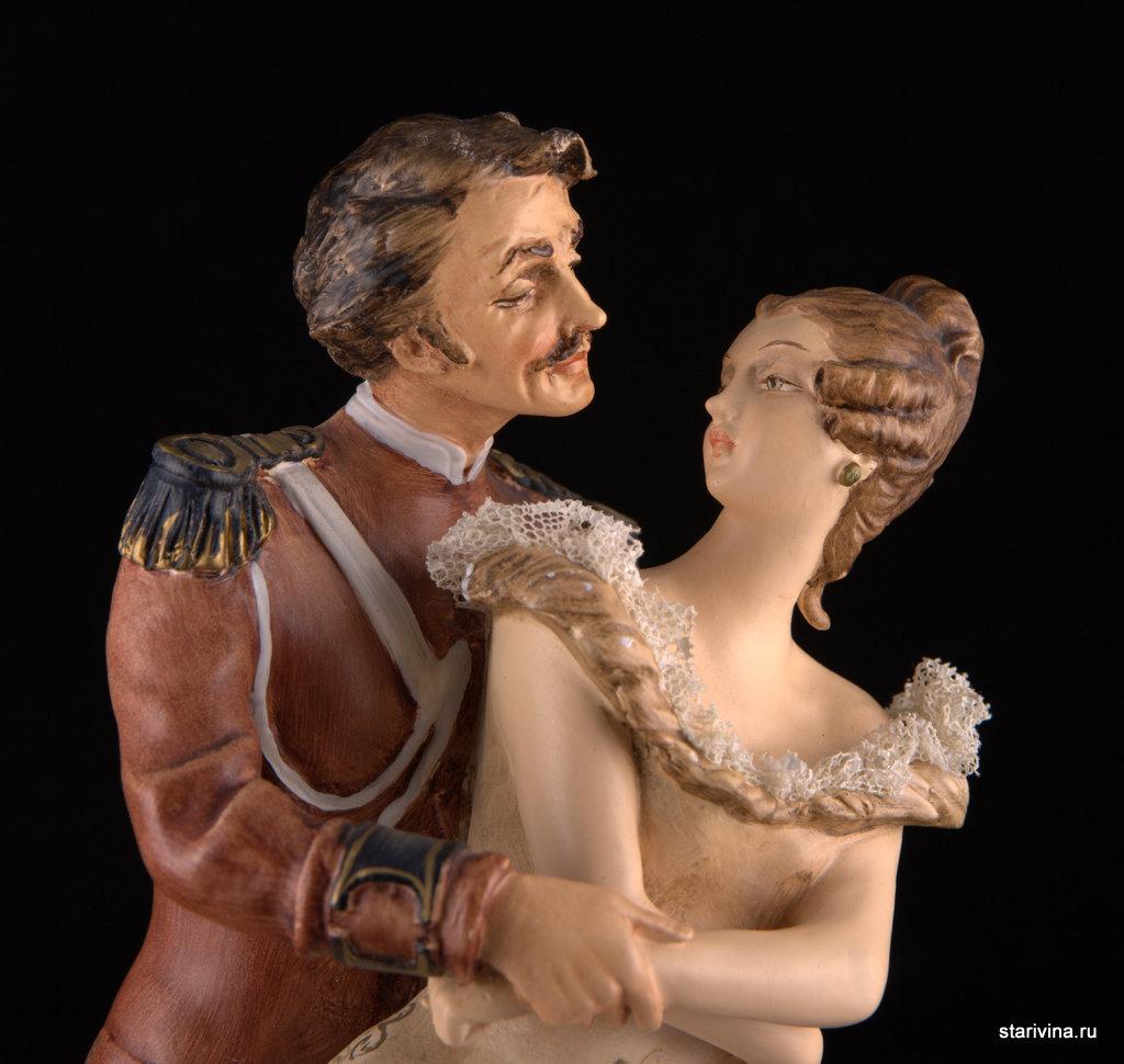 Статуэтка Давайте потанцуем. Antonio Borsato, Милан, Италия.
