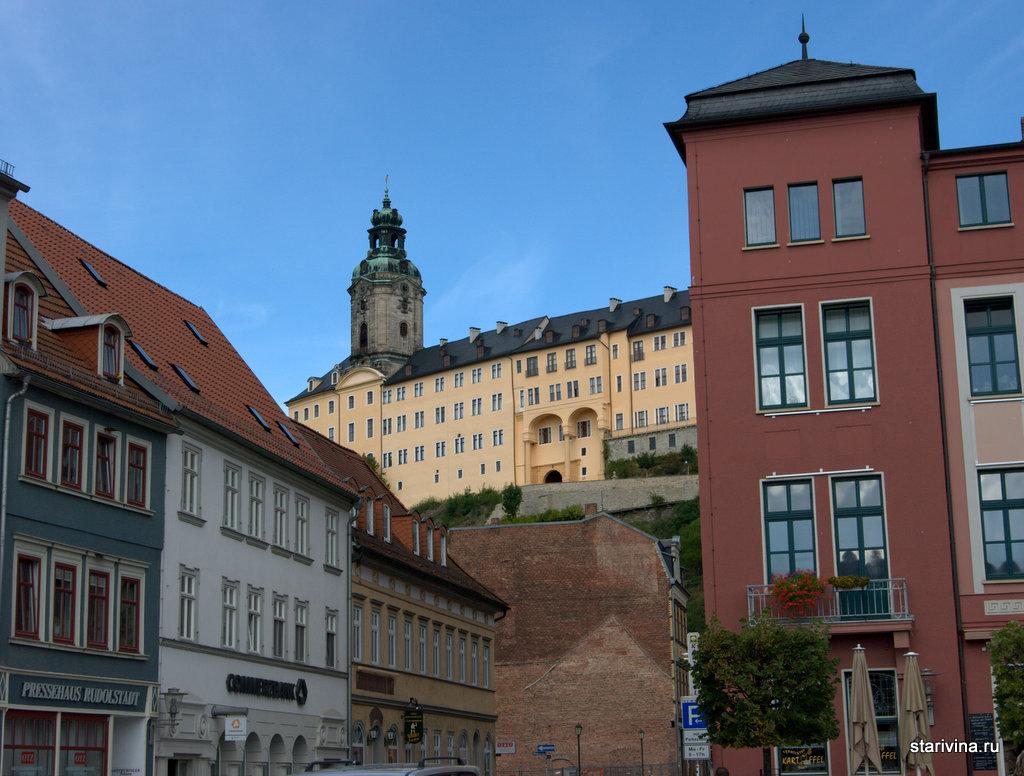 Хайдексбург - символ города Рудольшадта, одного из центров производства Фарфора в Тюрингии