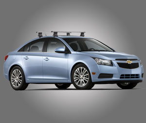Багажник на крышу на Chevrolet Cruze