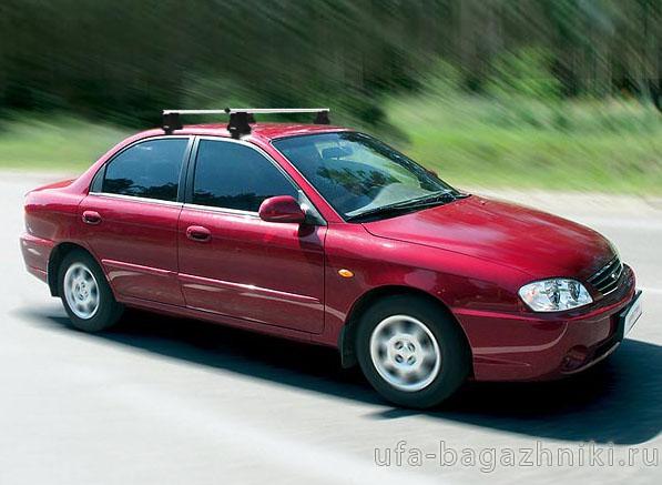 Багажник на крышу на Kia Spectra