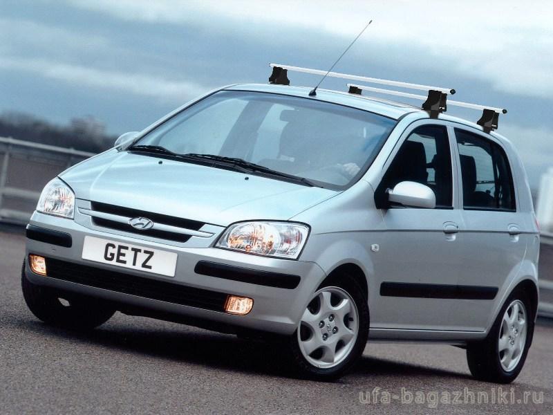 Багажник на крышу на Hyundai Getz