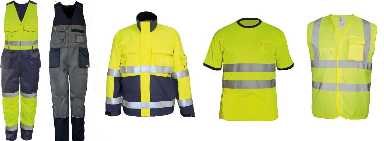 сигнальная рабочая одежда
