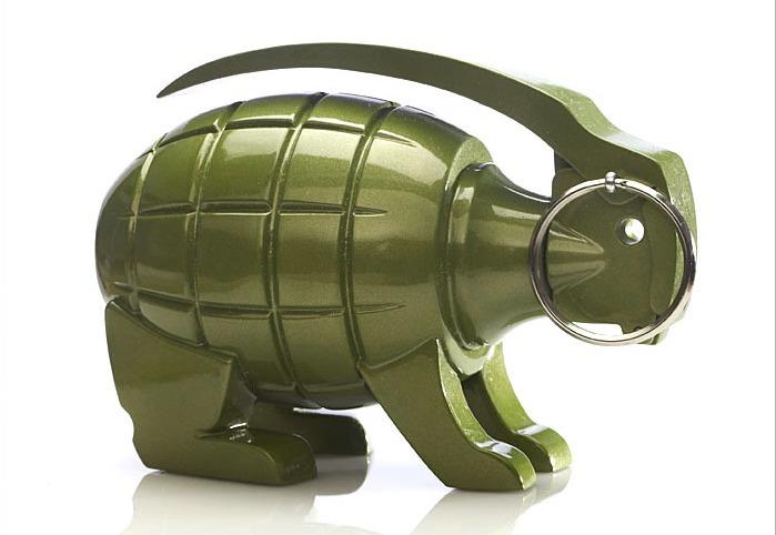 Grenade Bunny – кролик из гранаты, символ воинствующего добра
